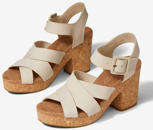 The Ava Heeled Sandal By Toms