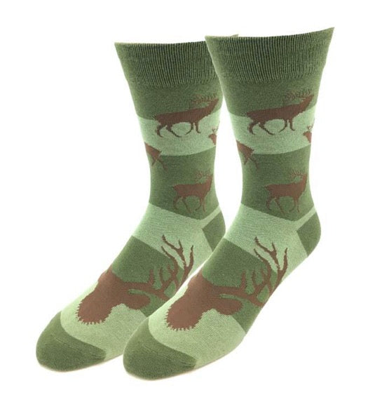 Elk Pattern Socks