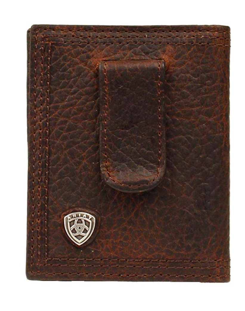 Ariat Rowdy Bifold Money Brown