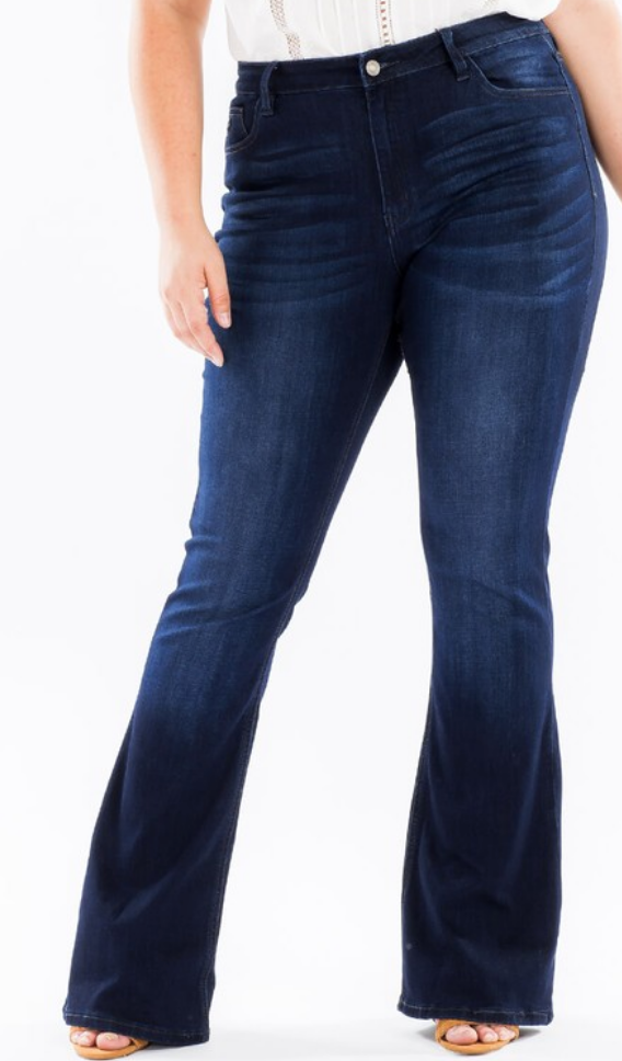 The Dayton Flares Jeans PLUS