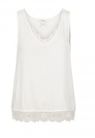 Tribal Sateen Lace Trim Cami