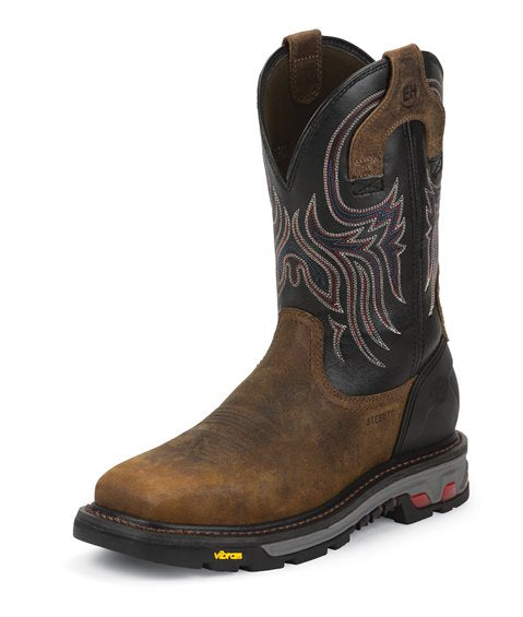 Justin Work Commander - X5 (Steel Toe) Boot