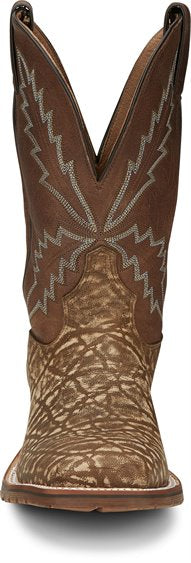 Bowie Taupe Western Boot
