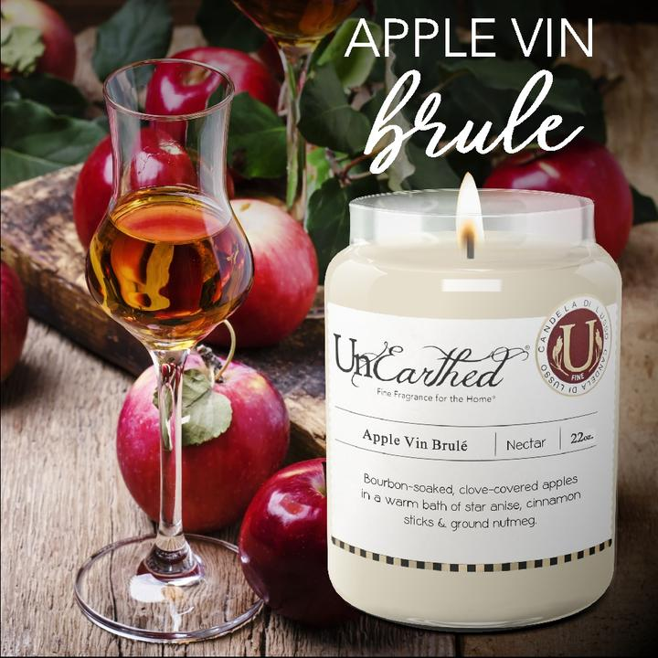 Apple Vin Brulé 22oz Unearthed Candle