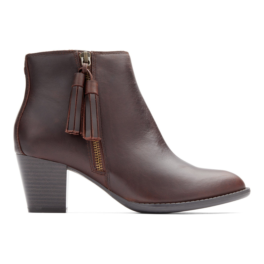 Vionic Madeline Leather Bootie