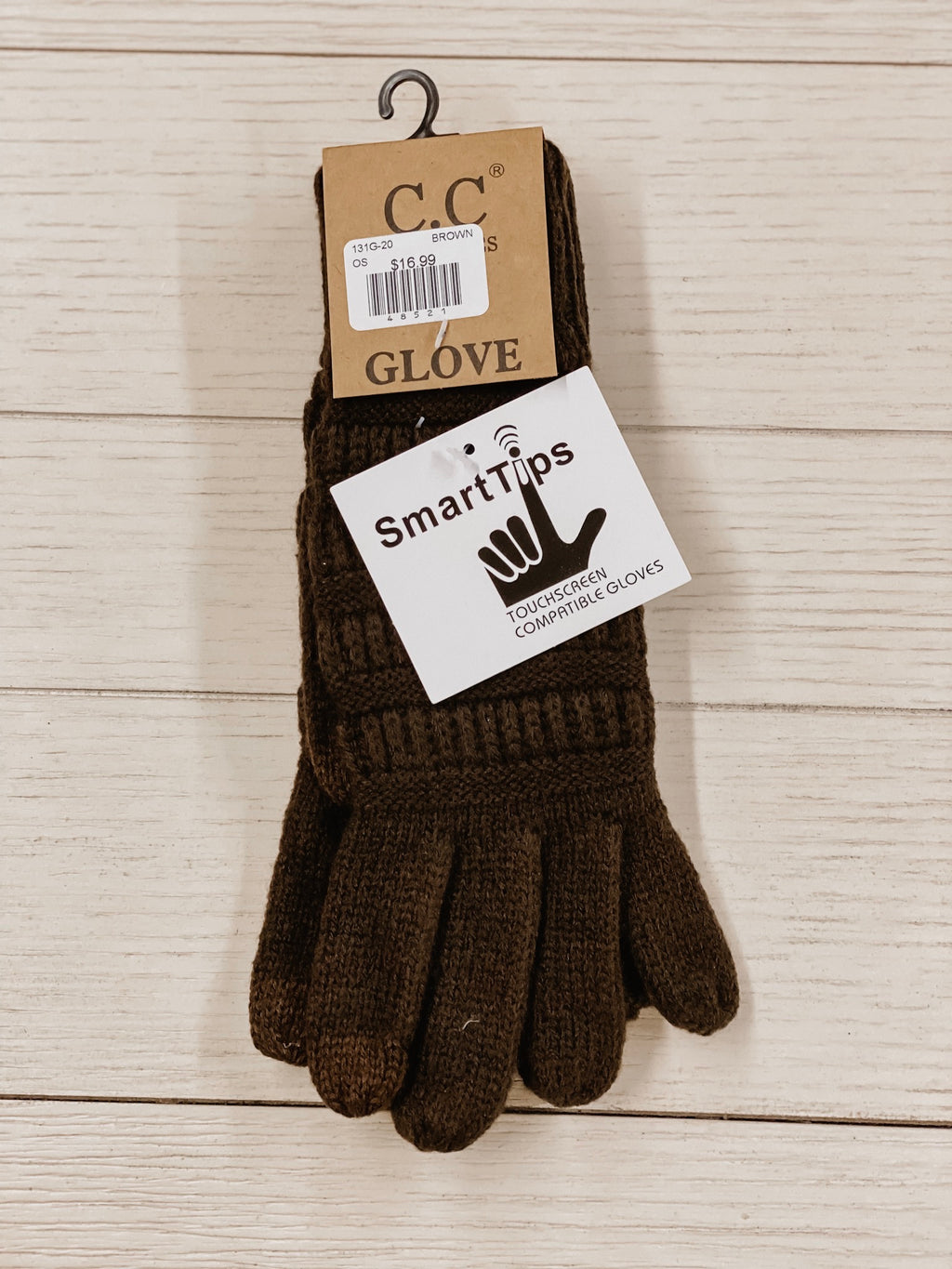 C.C. Gloves Brown