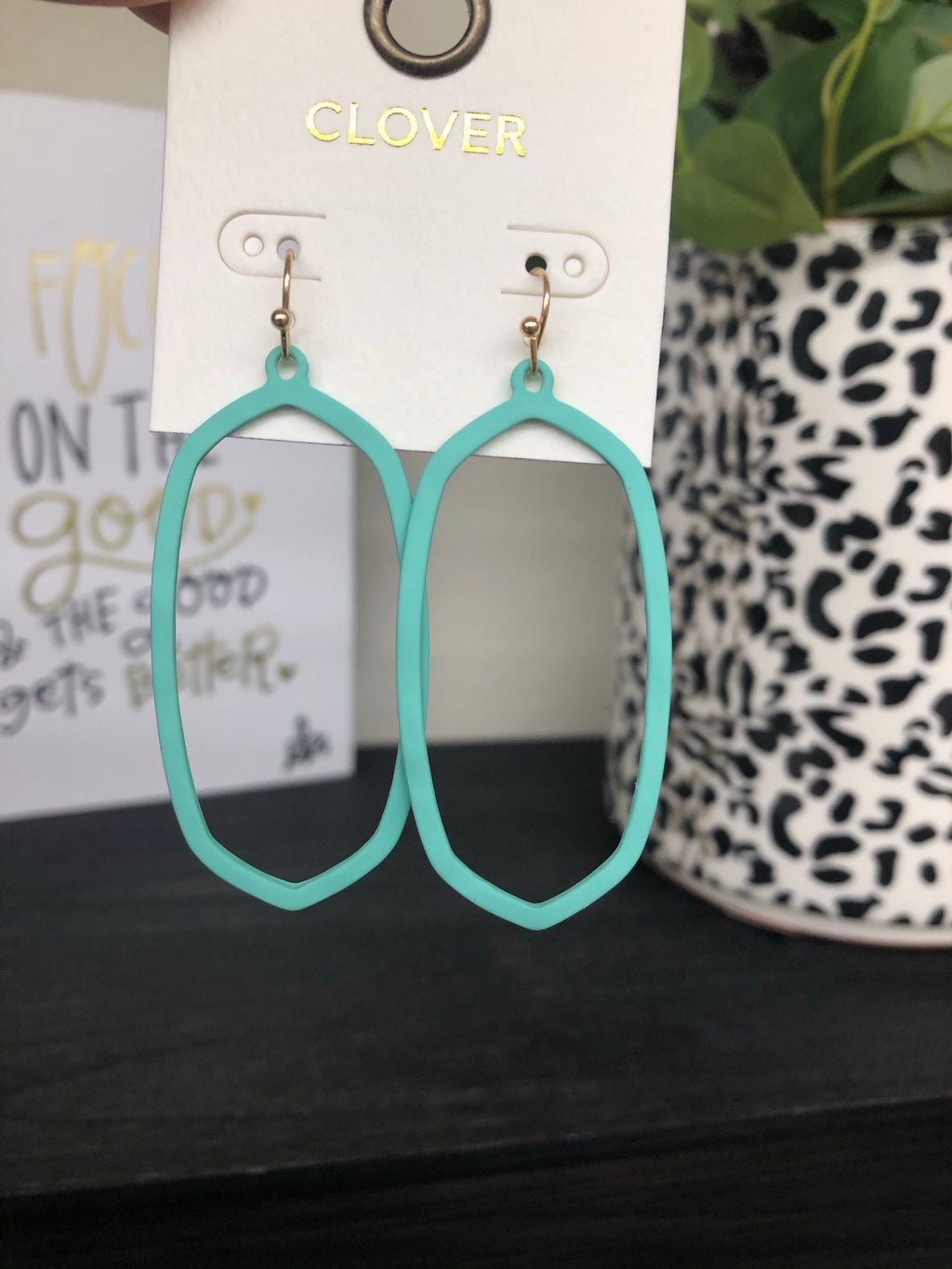 Stylish And Stunning Earring TEAL