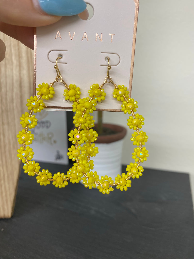Eternal Sunshine Earrings YELLOW