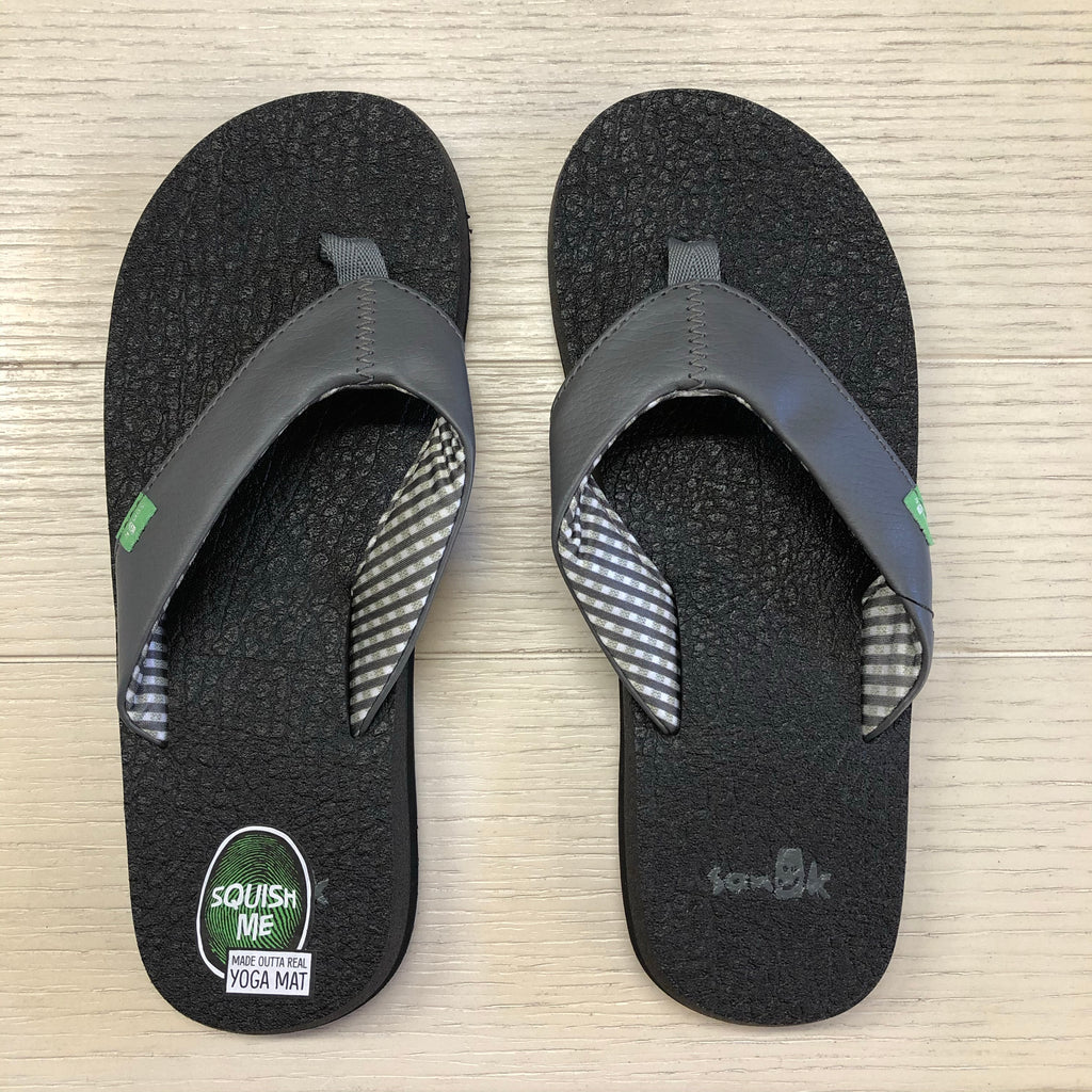 Yoga Mat Sandals CHARCOAL By Sanuk