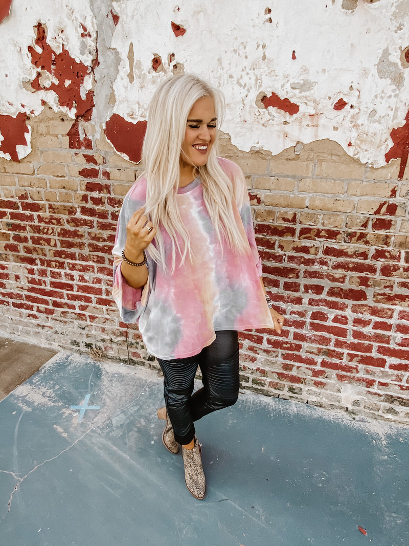 Lead Runner Tie Dye Top