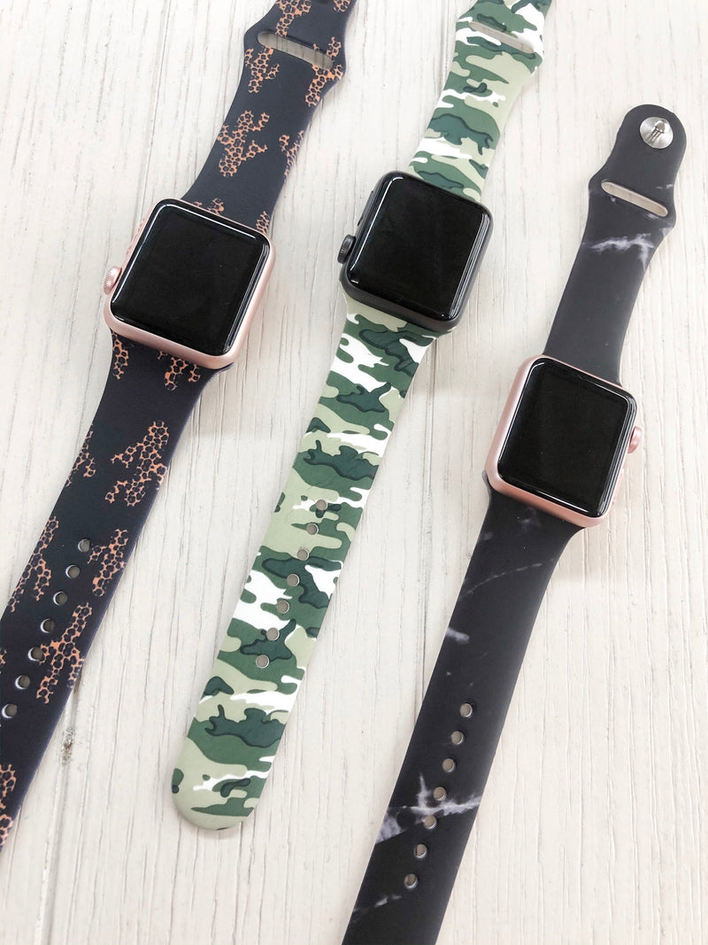 The Camo Apple Watchband