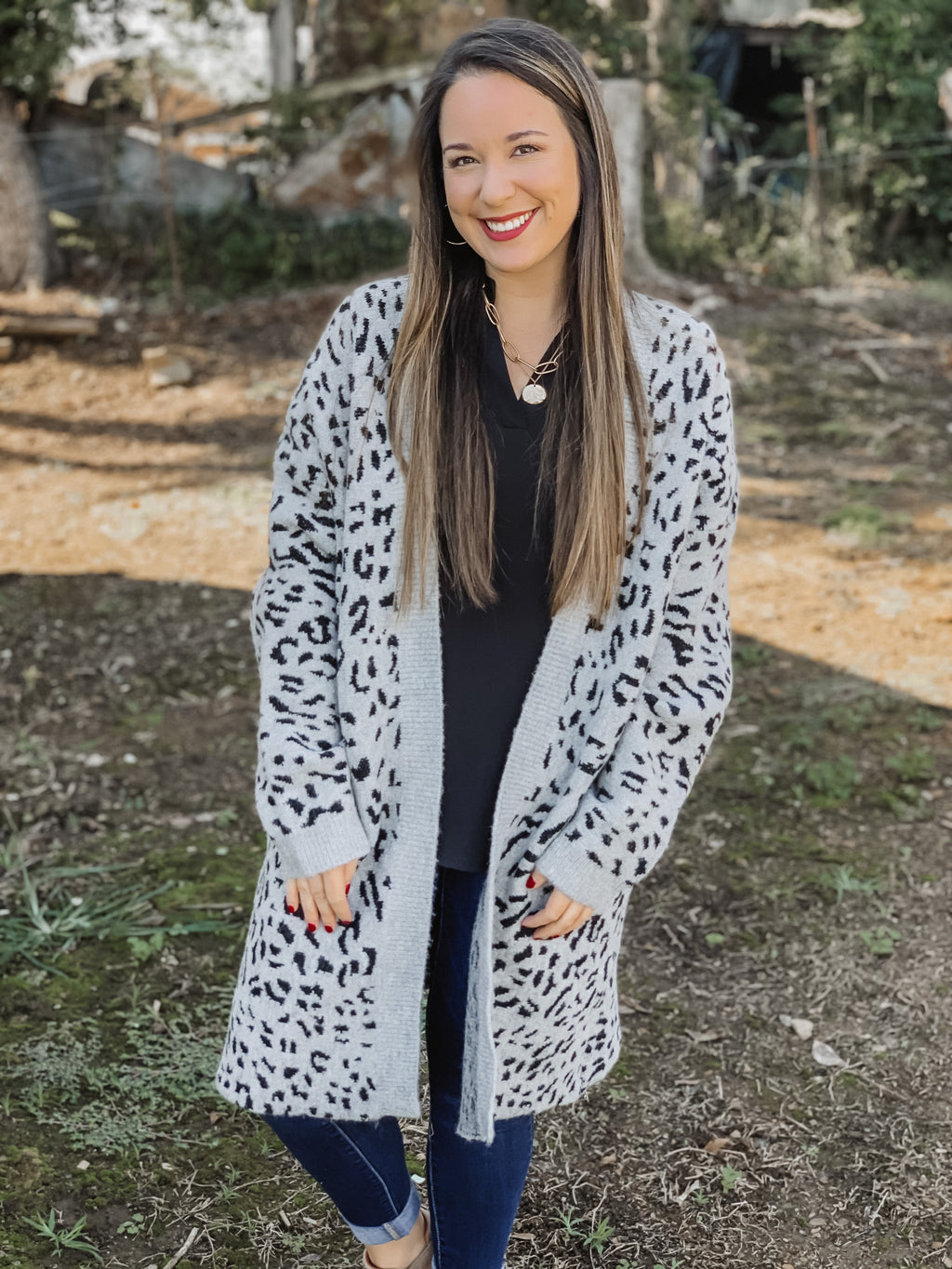 The Most Wanted Leopard Cardigan