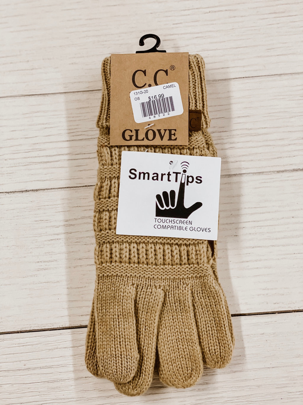 C.C. Gloves Camel