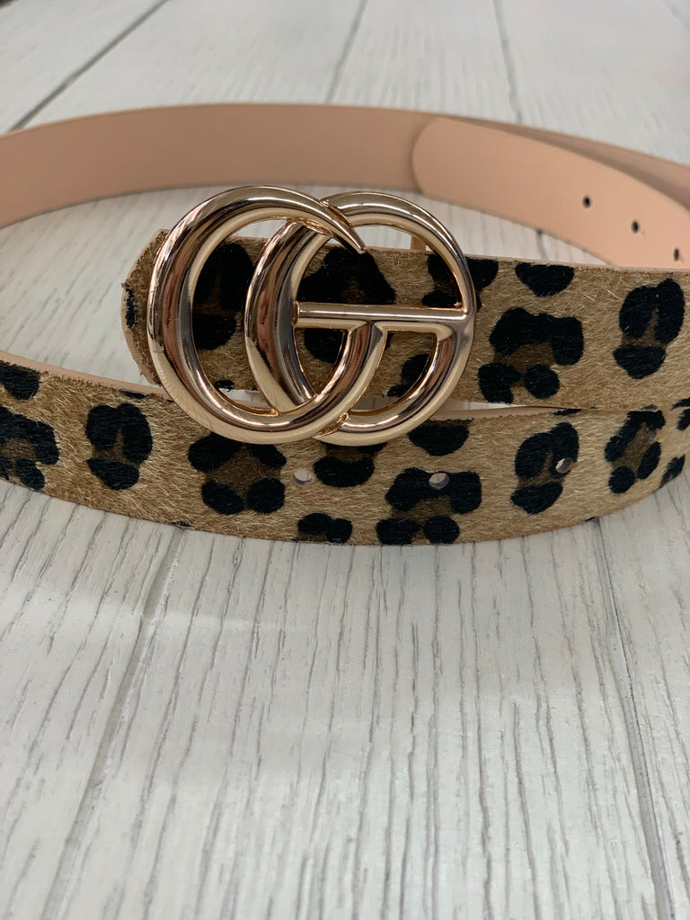 The Gucci Inspired Belt LEOPARD