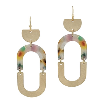 Starts With Love Earring