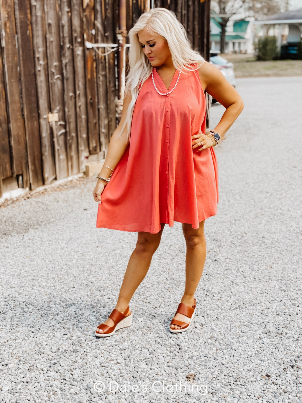 Your Best Day Dress Cantaloupe