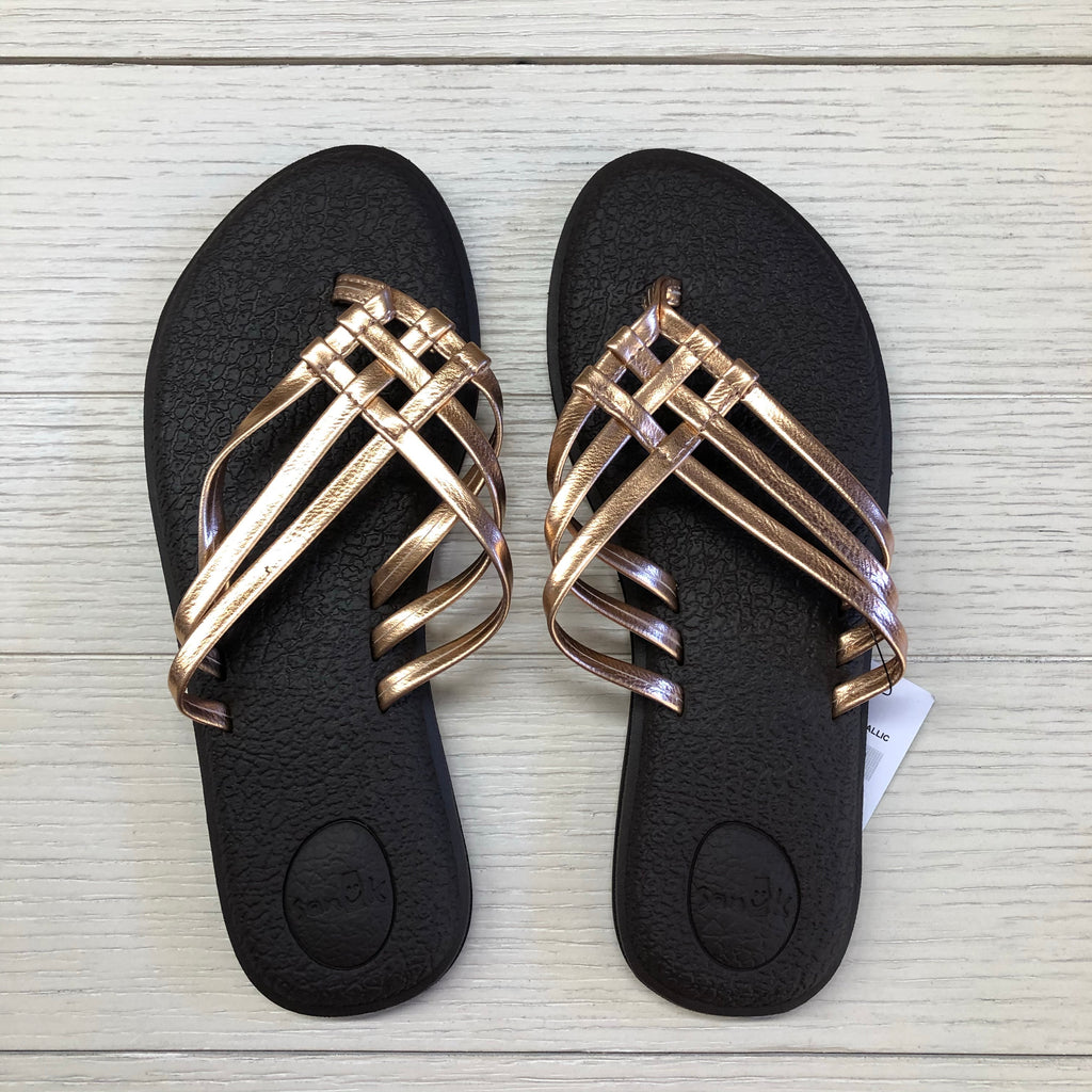 Yoga Salty Metallic Sandal By Sanuk