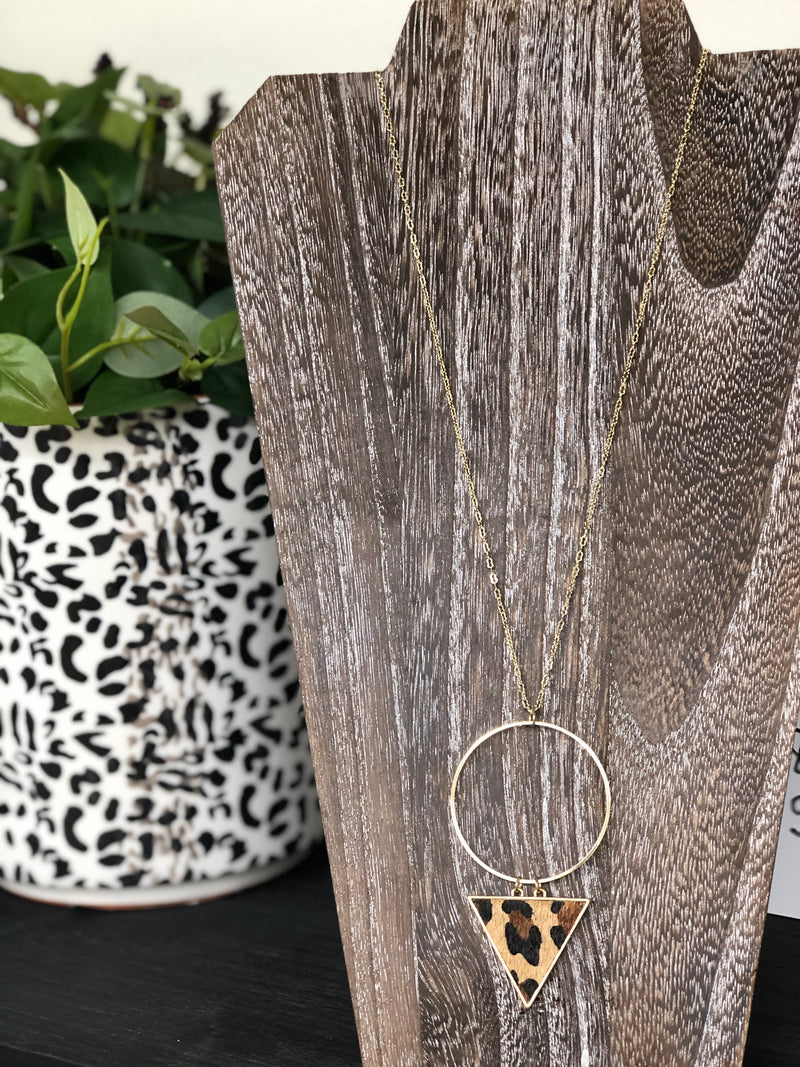 Everyones Favorite Leopard Necklace
