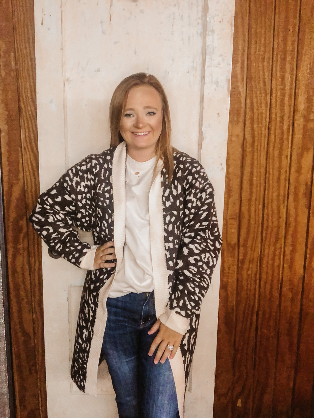 The Most Wanted Leopard Cardigan BROWN LEO