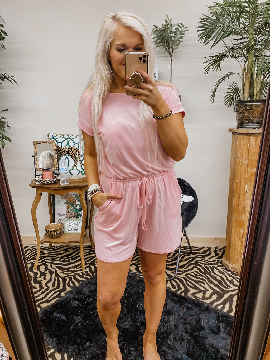 Whole Lot Of Lovely Romper PINK