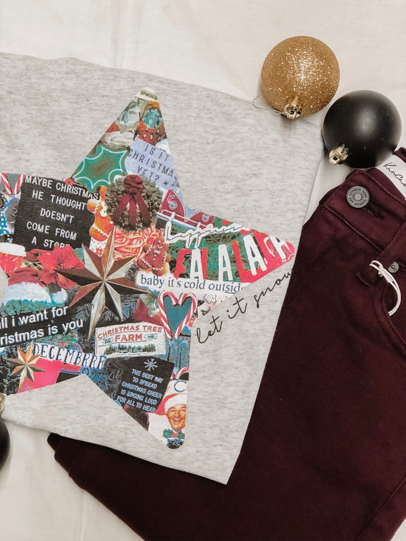 Southern Trend Let It Snow Graphic Tee