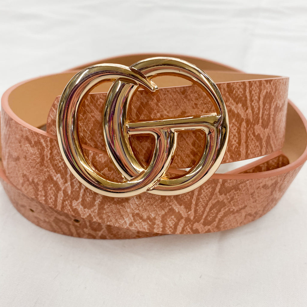 The Gucci Inspired Snake Belt Clay