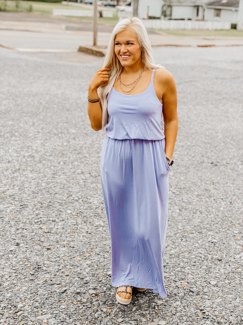 Nothing But The Best Maxi LAVENDER
