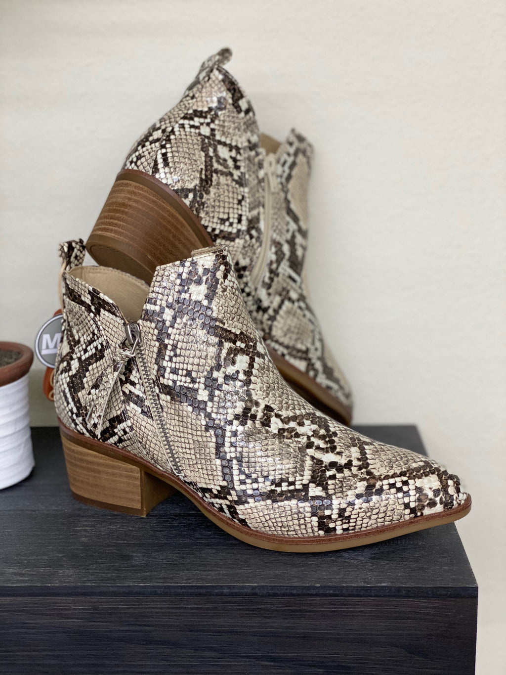 Snake Bootie By MIA