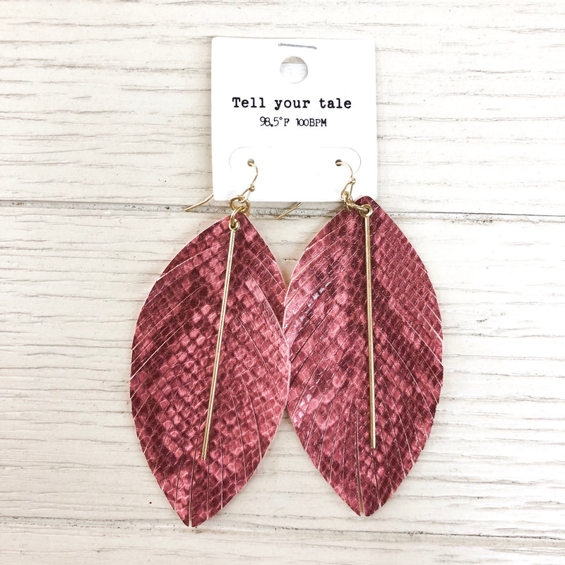 Wine & Dine Earrings