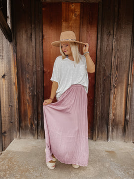 Feelin' Fine Ruffle Maxi Skirt