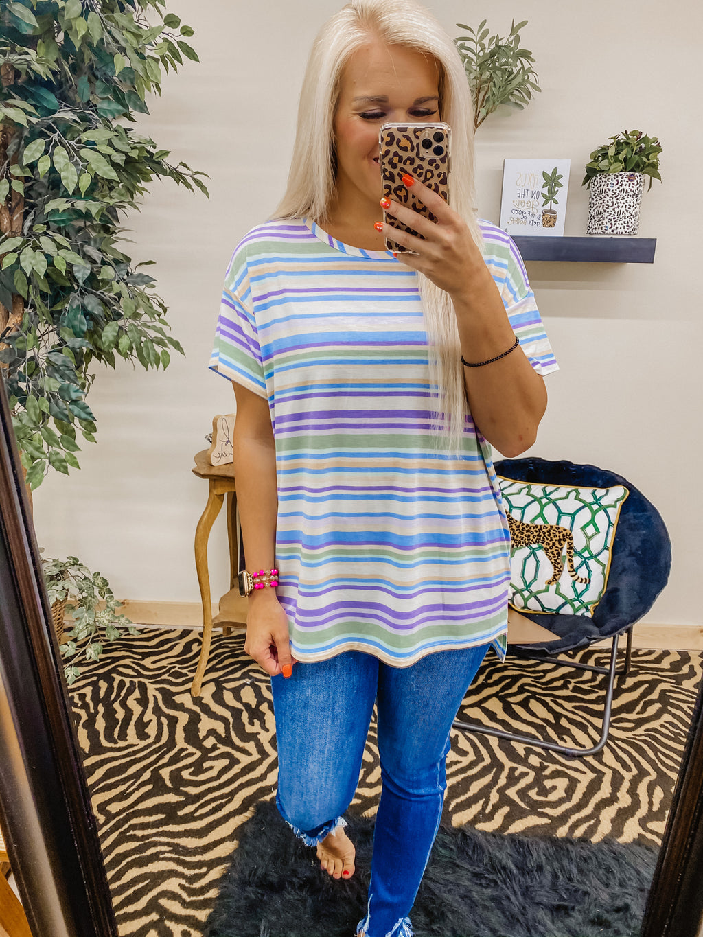 Calling All Stripes Top