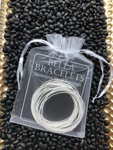 Bella Platinum Guitar String Bracelets