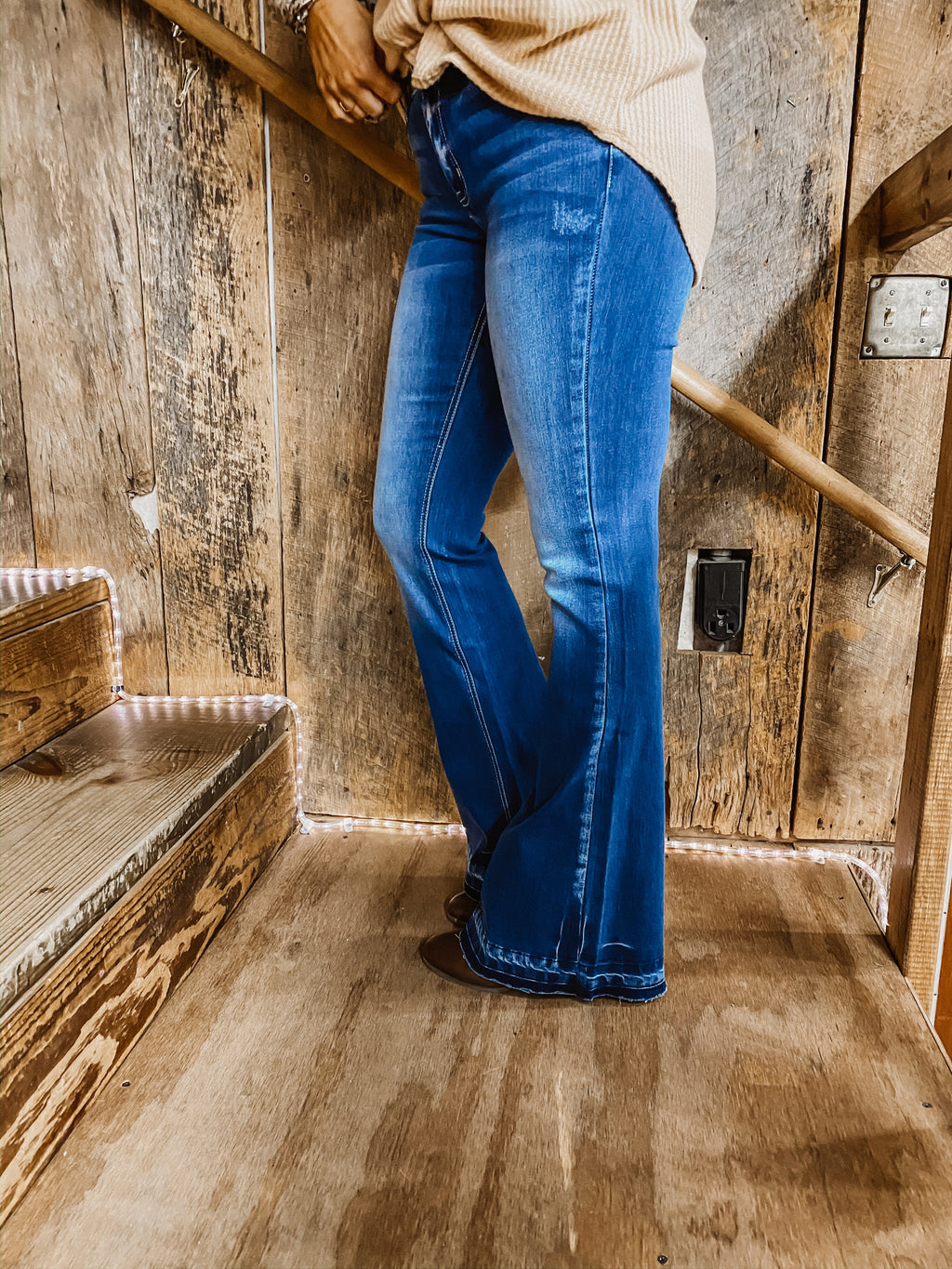 The Ashley Flare Jean