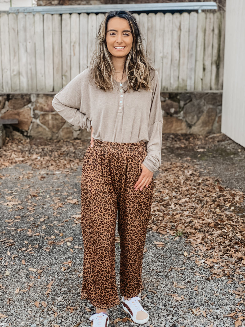 The Best Leopard Paperbag Pants