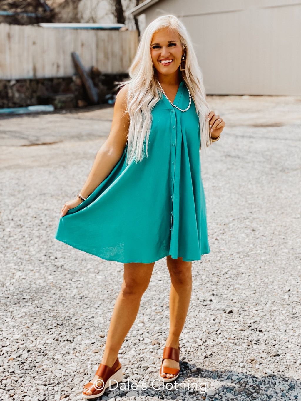 Your Best Day Dress Jade
