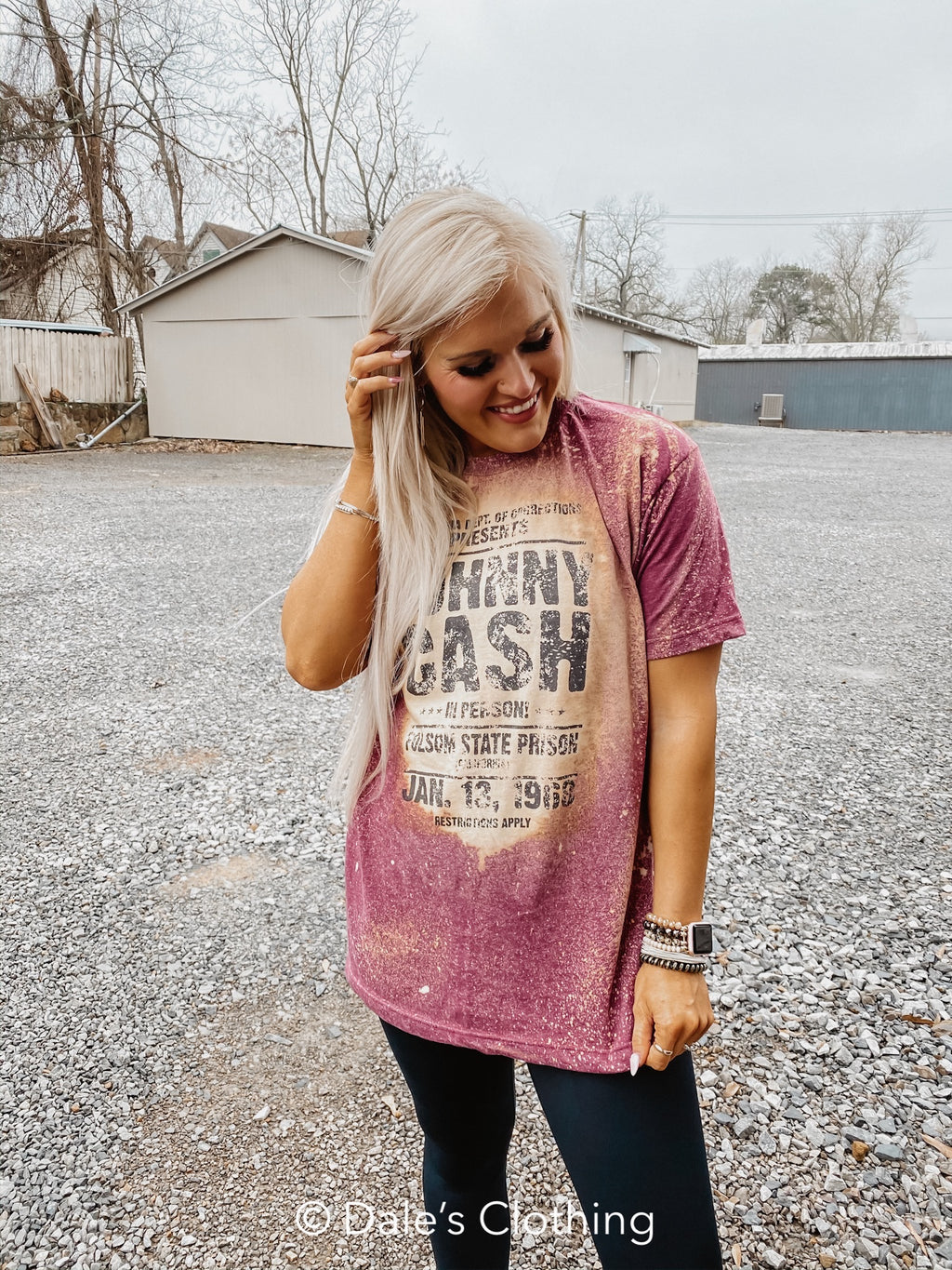 Johnny Cash Graphic Band Tee