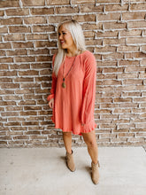 Cantaloupe Linen Pocket Dress PLUS