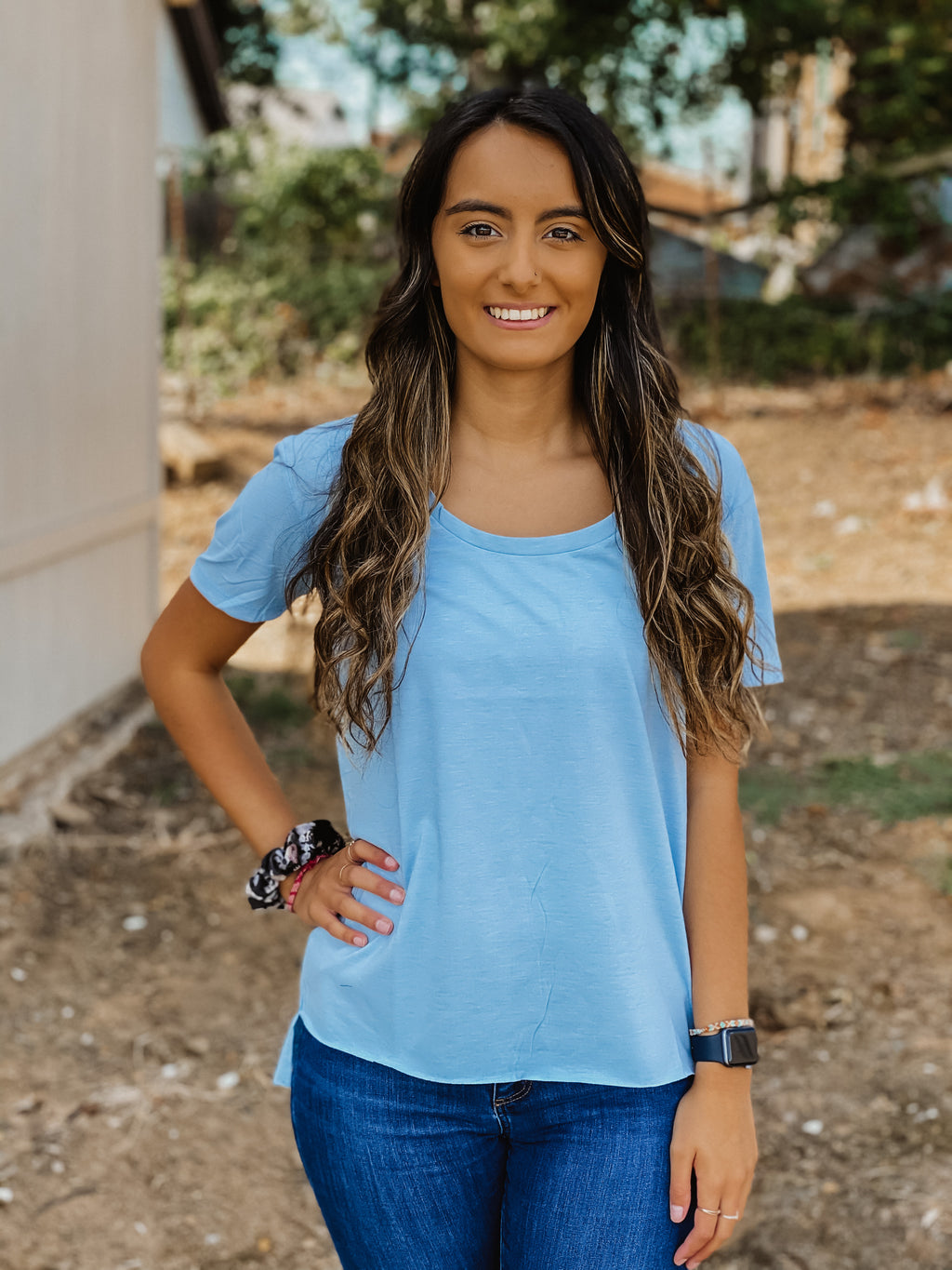 Cute and Comfy Top BLUE