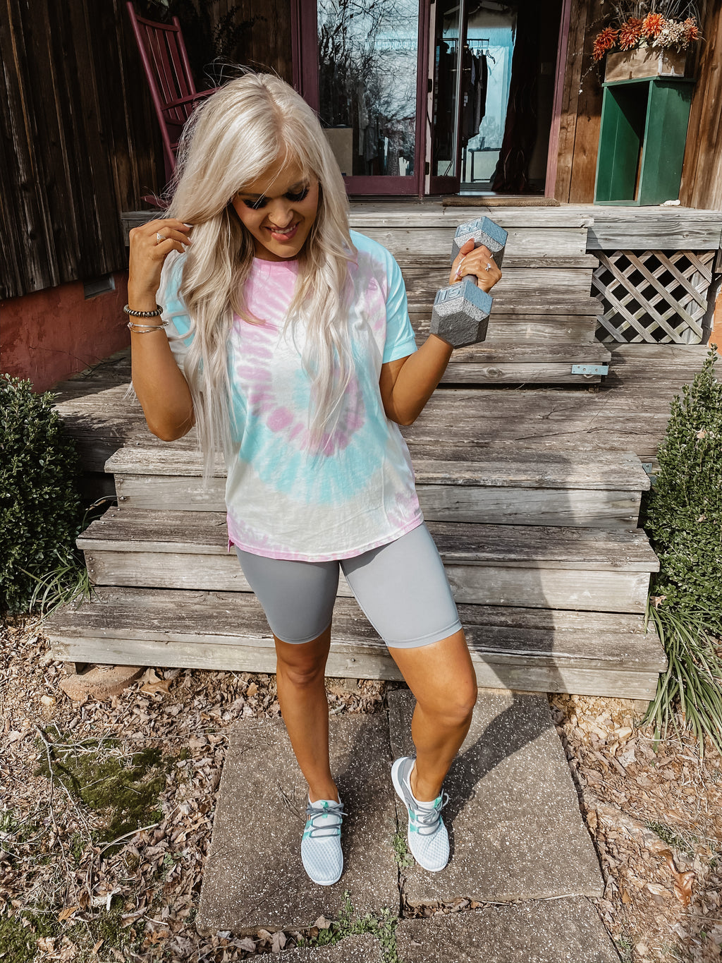 Set You Free Tie Dye Top