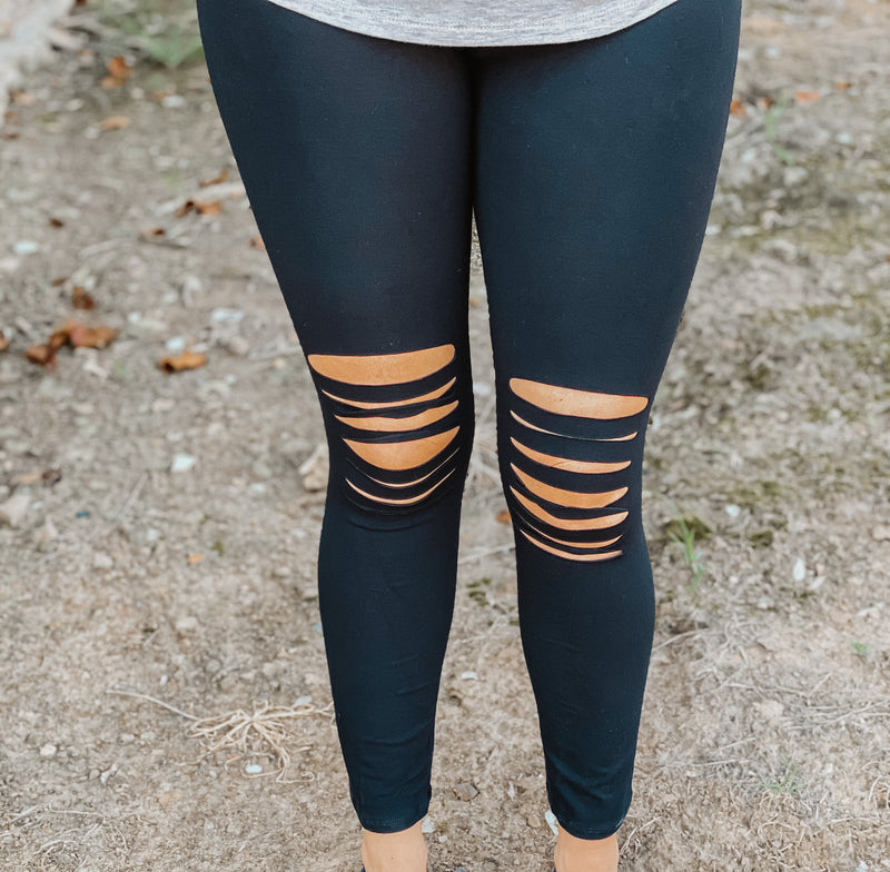 All For You Ripped Leggings