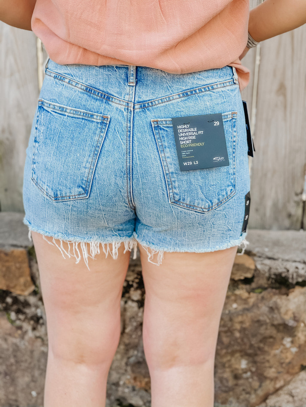Highly Desireable High Rise Short by Silver Jeans