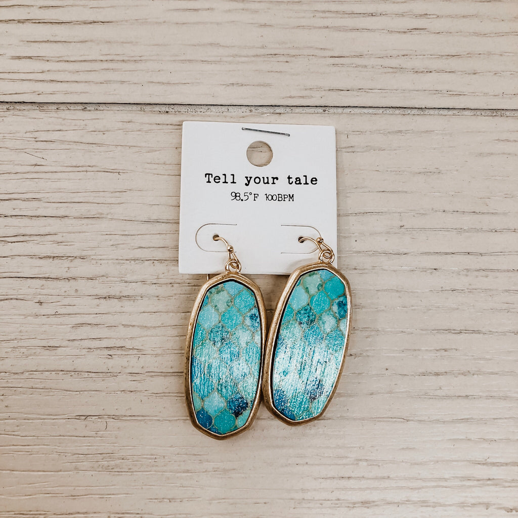 Mad About You Marble Earrings