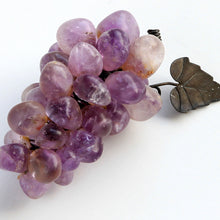 Vintage Miniature Amethyst Grape Cluster