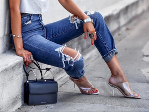 Jeans Women Apparel Clothing Trend