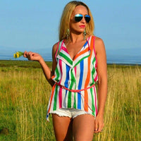 Top Playful Multicolor-Tops-Moda Me Couture
