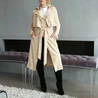 Chic And Timeless Trench Coat-Jackets & Coats-Moda Me Couture