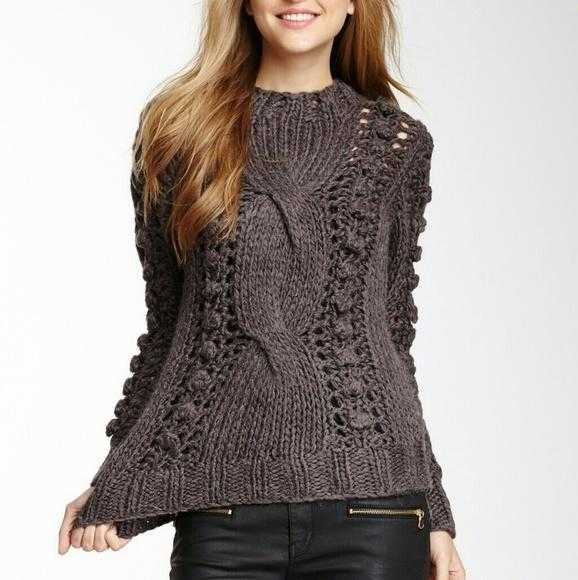 Thick Soft Cable Knot Sweater-Sweater-Moda Me Couture ®