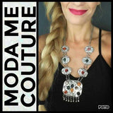 Bohemian Inspired Necklace-Jewelry-Moda Me Couture