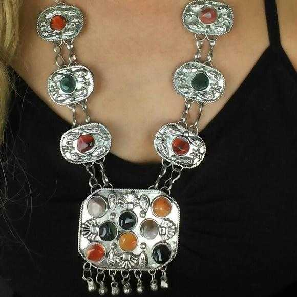 Bohemian Inspired Necklace-Jewelry-Moda Me Couture ®