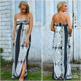 Boho Chic Maxi Dress-Dress-Moda Me Couture